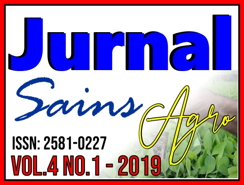 Jurnal Sains Agro Vol 4 No 1 (2019)